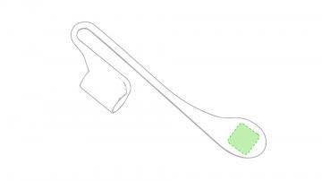 Impresión D-En un lateral en la zona inferior