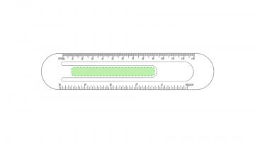 Impresión D-En la lengüeta central