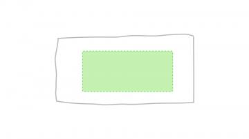 Impresión F-Centrado en la toalla