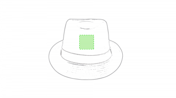 Impresión E-Frontal sombrero