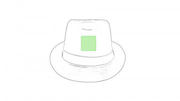 GRABACIÓN TRANSFER SERIGRÁFICO-Frontal sombrero