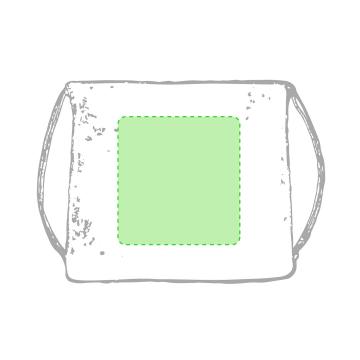 Impresión G-Centrado en la bolsa