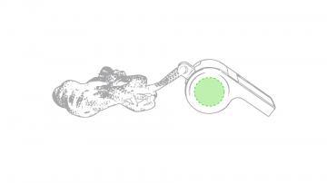 Impresión B-En la cara b (zona circular)