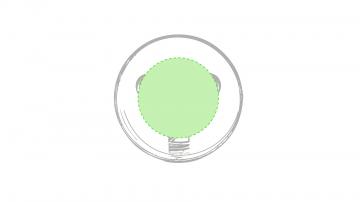 Impresión E-En la parte circular