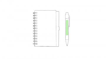 Impresión B-En el cuerpo del bolígrafo cara b