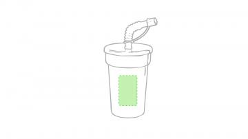 Impresión E-En el lateral del vaso