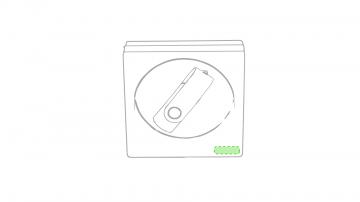 Impresión E-Cualquier esquina caja presentación