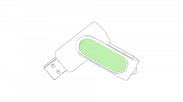 DOMING - GOTA DE RESINA V2 -10   cm2-En la parte metálica cara b