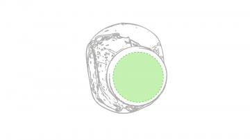 Impresión D-Tapa superior