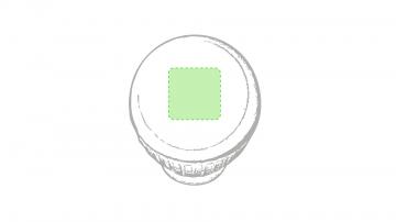 Impresión D-En la parte blanca