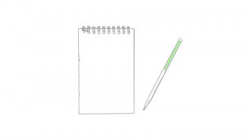 Impresión B-En el lápiz cara a
