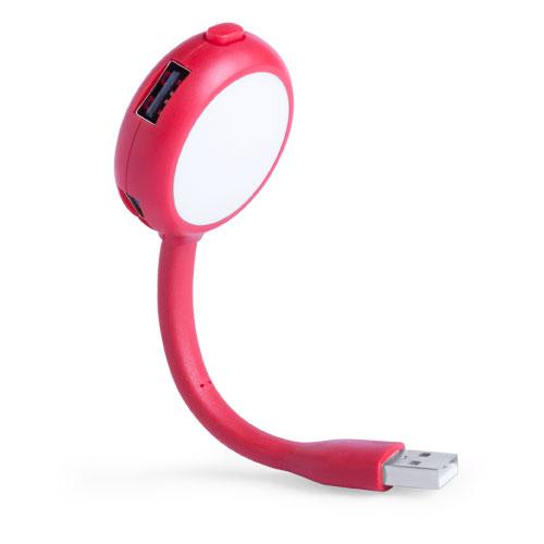 Lámpara puerto USB Ticaro
