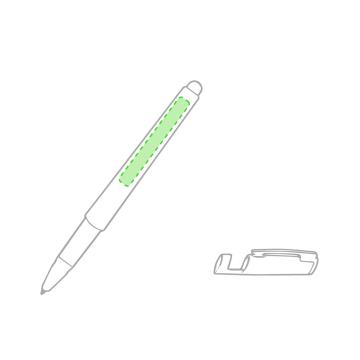 Impresión A-En el bolígrafo, cara a