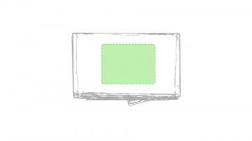 Impresión D-Cartón de presentación