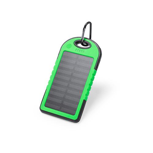 Power bank resistente recarga solar 4000mAh Lenard