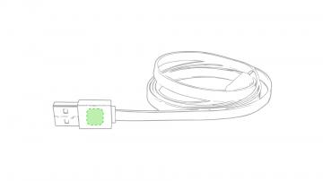 Impresión D-En el conector del usb