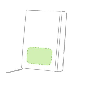 Impresión B-En el bolígrafo zona clip cara b