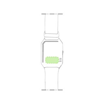 Impresión K-Parte trasera del reloj