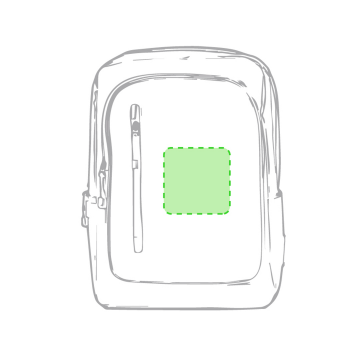 Impresión G-En el frontal de la mochila