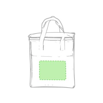 Impresión F-En la bolsa centrado