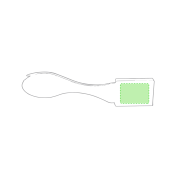 Impresión E-En el mango de los cubiertos