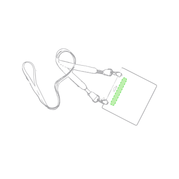 Impresión B-En la tarjeta de identificación
