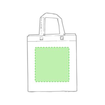 Impresión F-Centrado en la bolsa