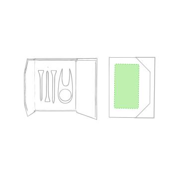Impresión B-En la caja de presentación