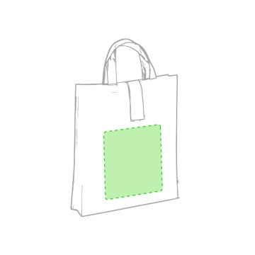 Impresión F-En la bolsa plegada