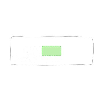 Impresión G-Centrado toalla