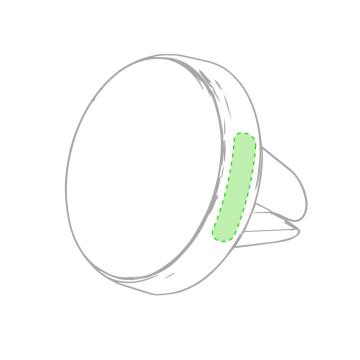 Impresión F-En la parte circular