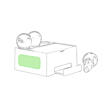 Impresión C-Centrado en el lateral