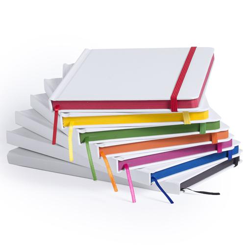 Bloc notas borde de colores Kaffol