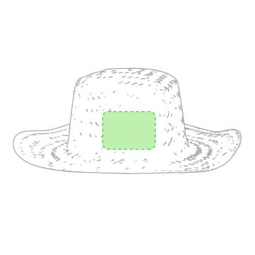Impresión D-Frontal del sombrero
