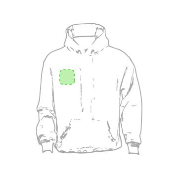 Impresión F-En el pecho derecha tipo bolsillo