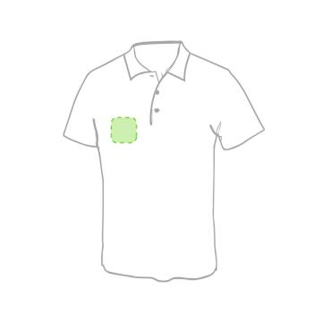 Impresión F-En el pecho izquierda tipo bolsillo