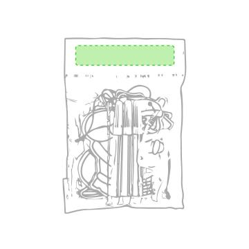 Impresión C-En la bolsa de presentación