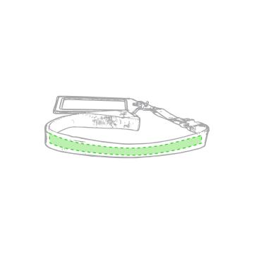 Impresión F-Lanyard a lo largo de la cinta