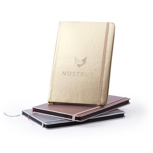 Cuaderno metalizado Bodley