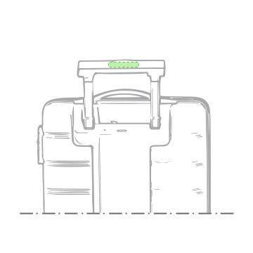Impresión K-En la parte posterior del asa