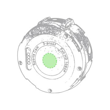 Impresión I-Cara opuesta de la lente