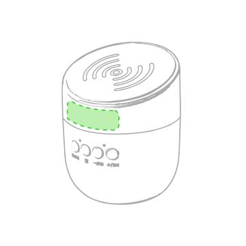 Impresión F-Zona superio donde botones