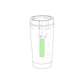Laser L-Bidón lateral centrado
