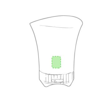 Impresión I-En el frontal del cubo