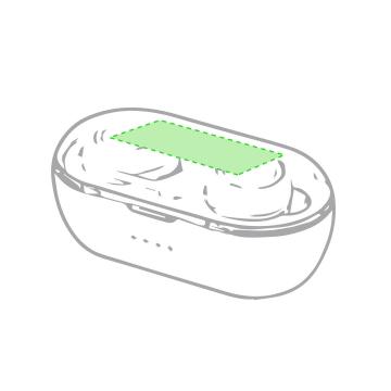 Impresión E-En la tapa de la caja de presentación