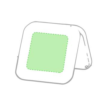 Impresión E-Zona frontal del soporte