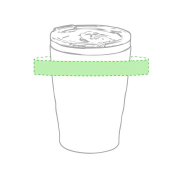 Impresión F-Alrededor del vaso