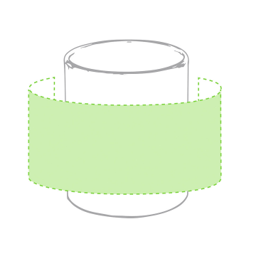 Sublimación Q-Alrededor de la taza