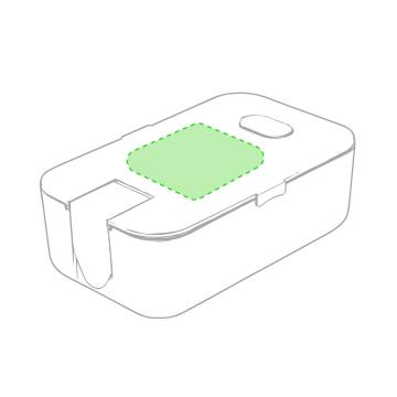 Impresión E-Centrado en la tapa