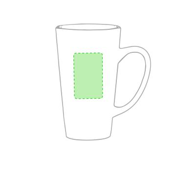 Impresión F-Alrededor de la taza